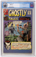 Silver Age (1956-1969):Horror, Ghostly Tales #55 Pacific Coast pedigree (Charlton, 1966) CGC NM9.4 Off-white to white pages....