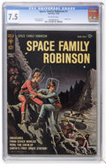 Silver Age (1956-1969):Science Fiction, Space Family Robinson #1 (Gold Key, 1962) CGC VF- 7.5 Off-whitepages....