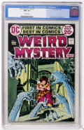 Bronze Age (1970-1979):Horror, Weird Mystery Tales #1 (DC, 1972) CGC NM+ 9.6 Off-white pages....