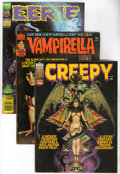 Magazines:Horror, Warren Miscellaneous Horror Magazine Short Box Group (Warren, 1974-82) Condition: Average VG+....