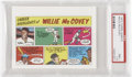 Baseball Cards:Singles (1970-Now), 1973 Topps Comics Test Issue Willie McCovey PSA NM+ 7.5....