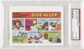 Baseball Cards:Singles (1970-Now), 1973 Topps Comics Test Issue Dick Allen PSA EX-MT 6....