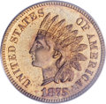Proof Indian Cents, 1875 1C PR65 Red PCGS....