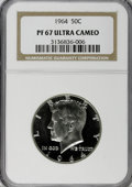 1964 50C PR67 Ultra Cameo NGC. NGC Census: (166/338). PCGS Population (144/287). Numismedia Wsl. Price for NGC/PCGS coin...