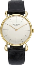 Timepieces:Wristwatch, Patek Philippe Men's Gold Wristwatch Ref. 2591/1, circa 1962. ...