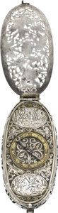 Timepieces:Pocket (pre 1900) , Jean Falise Gothic Revival Watch in the Late 16th Century Style....
