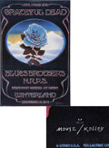 Music Memorabilia:Posters, Grateful Dead New Years Eve Blue Rose Winterland ConcertPoster (1978)....