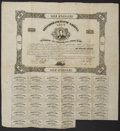 Confederate Notes:Group Lots, Ball 133 Cr. 48 $100 Bond 1862.. ...
