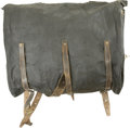Military & Patriotic:Civil War, Rare Federal Issue Double-Bag Knapsack, in extraordinary condition. ...