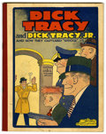Platinum Age (1897-1937):Miscellaneous, Dick Tracy & Dick Tracy Jr. #2 (Cupples & Leon, 1933)Condition: VF-....