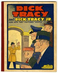Dick Tracy & Dick Tracy Jr. #2 (Cupples & Leon, 1933) Condition: VF-