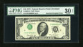 Error Notes:Inverted Third Printings, Fr. 2022-D $10 1974 Federal Reserve Note. PMG Very Fine 30 EPQ.....
