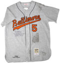 Autographs:Jerseys, Brooks Robinson Signed Mitchell & Ness Throwback Jersey.. ...