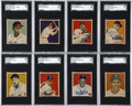 Baseball Cards:Sets, 1949 Bowman Baseball Complete Set (240). ...