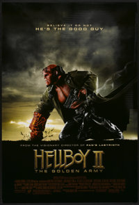 """Hellboy II: The Golden Army (Universal, 2008). One Sheet (27"""" X 40"""") DS. Action"""