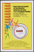 """Movie Posters:Musical, Hair (United Artists, 1979). One Sheet (27"""" X 41"""") Style B. Musical...."""