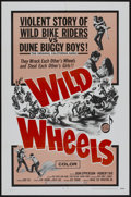 "Movie Posters:Action, Wild Wheels (Fanfare, 1969). One Sheet (27"" X 41""). Action...."