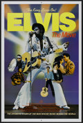 "Movie Posters:Elvis Presley, Elvis (ABC, 1979). TV Station One Sheet (27"" X 41""). ElvisPresley...."