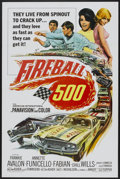 "Movie Posters:Action, Fireball 500 (American International, 1966). One Sheet (27"" X 41"").Action...."