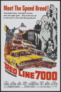 "Movie Posters:Sports, Red Line 7000 (Paramount, 1965). One Sheet (27"" X 41""). Sports...."