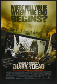 """Diary of the Dead (The Weinstein Company, 2007). Autographed One Sheet (27"""" X 40""""). Horror"""