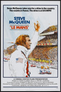 "Movie Posters:Sports, Le Mans (National General, 1971). One Sheet (27"" X 41""). Sports...."