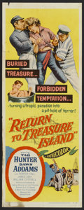 "Movie Posters:Adventure, Return to Treasure Island (United Artists, 1954). Insert (14"" X36""). Adventure...."