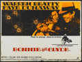 "Movie Posters:Crime, Bonnie and Clyde (Warner Brothers-Seven Arts, 1967). British Quad(30"" X 40""). Crime...."