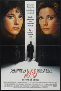 "Black Widow (20th Century Fox, 1987). One Sheet (27"" X 40""). Thriller"