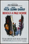 """Movie Posters:War, Behold a Pale Horse (Columbia, 1964). One Sheet (27"""" X 41"""").War...."""