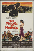 "Movie Posters:Adventure, The Roots of Heaven (20th Century Fox, 1958). One Sheet (27"" X41""). Adventure...."