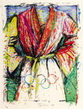 Fine Art - Work on Paper:Print, JIM DINE (American, b. 1935). Multicoloured Robe for the Seoul Olympics, 1988. Lithograph in colors. Ed. 203/300. Signed...