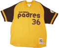 Autographs:Jerseys, Gaylord Perry Signed Throwback Jersey....