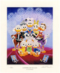 Memorabilia:Comic-Related, Carl Barks Lavender and Old Lace Miniature Lithograph Limited Edition Print #68/595 (Another Rainbow, 1996).... (Total: 2 Items)