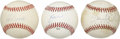 Autographs:Baseballs, Star Pitchers Single Signed Baseball Lot of 3....