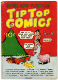 Golden Age (1938-1955):Miscellaneous, Tip Top Comics #8 (United Features Syndicate, 1936) Condition: VG....