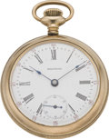 Timepieces:Pocket (post 1900), Waltham Fancy Engraved Model 83, circa 1902. ...