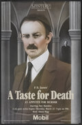 "Movie Posters:Mystery, Mystery! - ""A Taste for Death"" (PBS, 1990). PBS Poster (30"" X 46"").Mystery...."