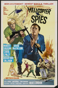 "Movie Posters:Action, Helicopter Spies (MGM, 1968). One Sheet (27"" X 41""). Action...."