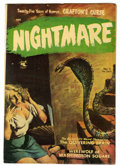 Golden Age (1938-1955):Horror, Nightmare #3 (Ziff-Davis, 1953) Condition: FN-....