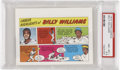 Baseball Cards:Singles (1970-Now), 1973 Topps Comics Test Issue Billy Williams PSA NM-MT+ 8.5....
