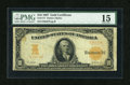 Large Size:Gold Certificates, Fr. 1171 $10 1907 Gold Certificate PMG Choice Fine 15. ...