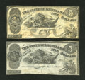 Obsoletes By State:Louisiana, Baton Rouge, LA- State of Louisiana $5 Oct. 10, 1862. Shreveport, LA- State of Louisiana $5 Mar. 10, 1863. ... (Total: 2 notes)