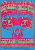 Music Memorabilia:Posters, The Doors Pink Panther Avalon Concert Poster FD-64 (FamilyDog, 1967). . ...