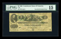 Confederate Notes:1862 Issues, T43 $2 1862 - Inverted Overprint.. ...