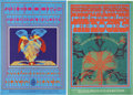 Music Memorabilia:Posters, Doors Break On Through To the Other Side FD-50 andButterfly Lady FD-61 Avalon Ballroom Concert Poster...(Total: 2 Items)