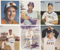 Autographs:Photos, Baseball Hall of Famers Signed Photographs Lot of 15....
