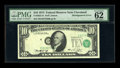 Fr. 2022-D $10 1974 Federal Reserve Note. PMG Uncirculated 62 EPQ