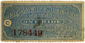 General Historic Events:World Fairs, World's Columbian Exposition: Movable Sidewalk Ticket....
