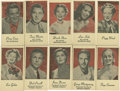 "Non-Sport Cards:General, 1940's Peerless ""Portraits of Movie Stars"" Complete Set (10). ..."